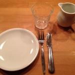 gedeckter Tisch für die Größeren